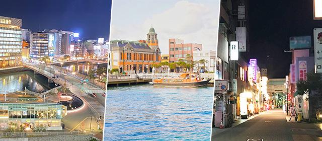 福岡県で特にメンズエステ求人の人気がある地域
