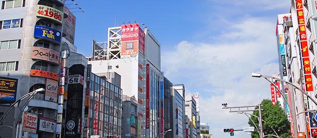 上野・御徒町・浅草エリアの特色