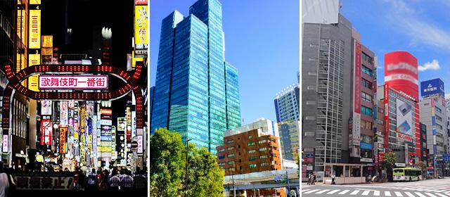 東京都で特にメンズエステ求人の人気がある地域